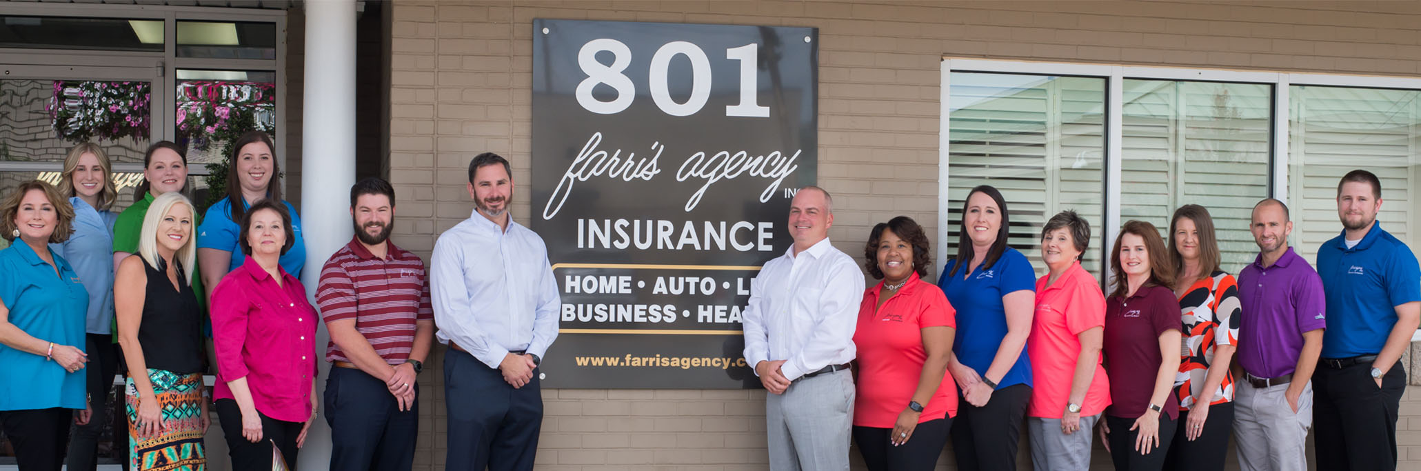 Photo of Farris Agency agents
